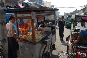 Food cart, Bandung